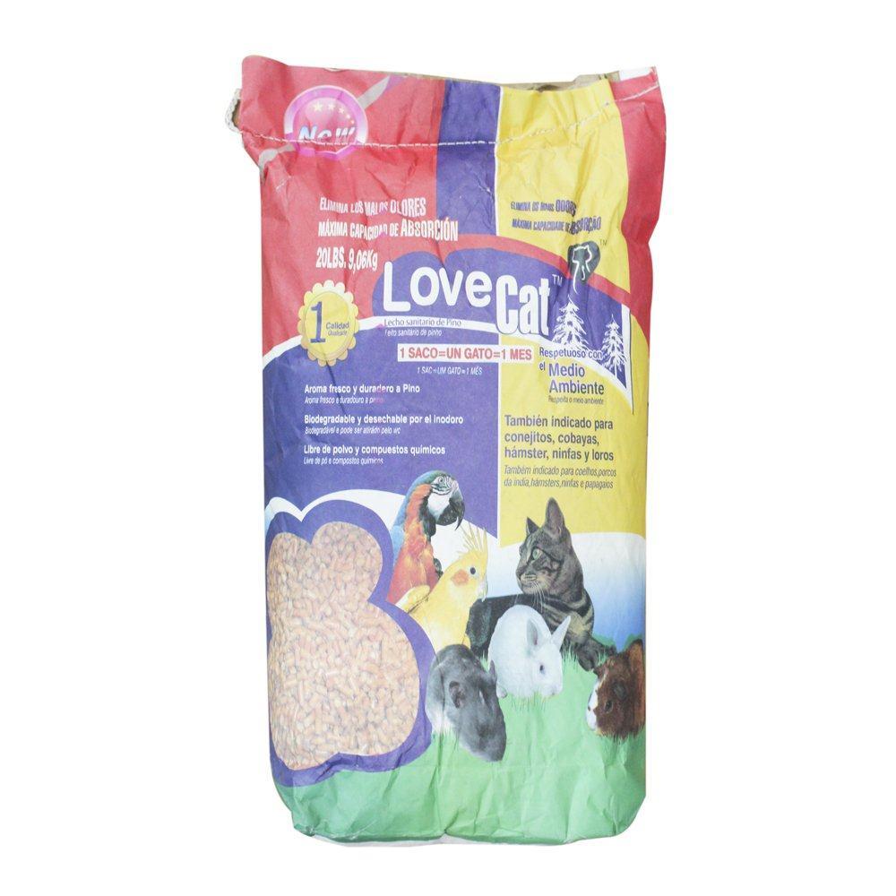 LoveCat 天然环保松木非结团猫砂 9kg