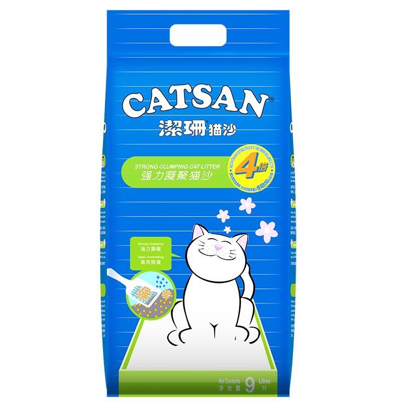 洁珊Catsan 膨润土强凝聚力猫砂9L(7.5kg) 7.5kg